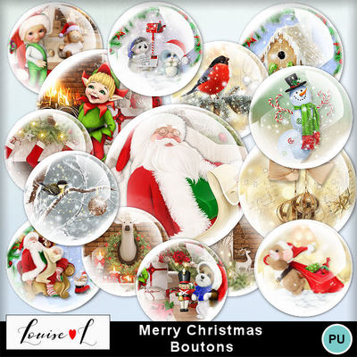 Louisel_merrychristmas_boutons