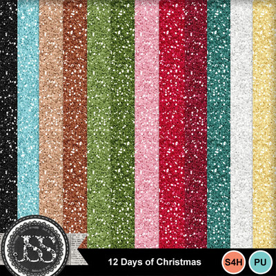 12_days_of_christmas_glitter_papers