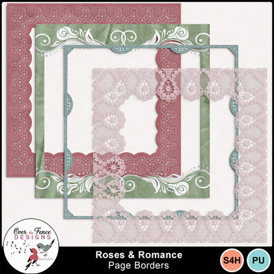 Roses_romance_page_borders