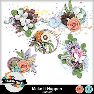 Lisarosadesigns_makeithappen_clusters