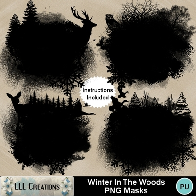 Winter_in_the_woods_png_masks-01
