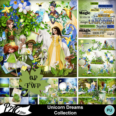 Patsscrap_unicorn_dreams_pv_collection