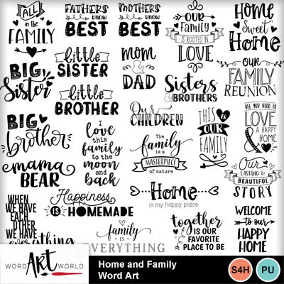 Home_and_family_word_art