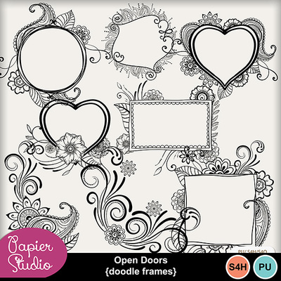 Open_doors_doodle_frames