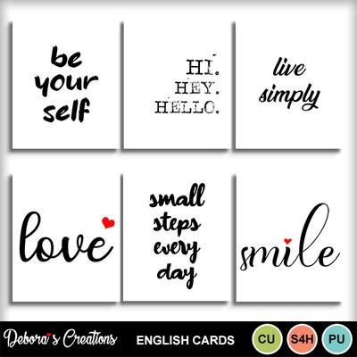 English_cards