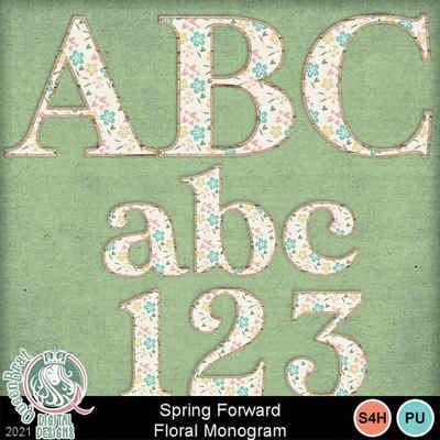 Springforward_floralmonogram