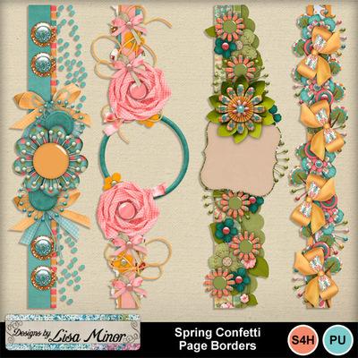 Springconfettiborders