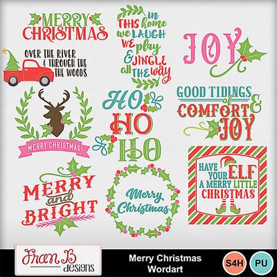 Merrychristmaswordart1