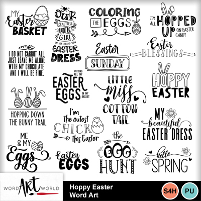 Hoppy_easter_word_art