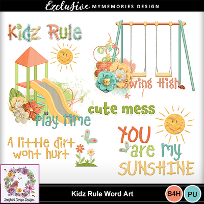 Kidz_rule_word_art