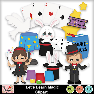 Let_s_learn_magic_clipart_preview