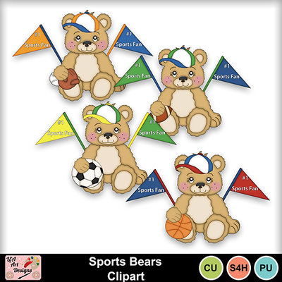 Sports_bears_clipart_preview