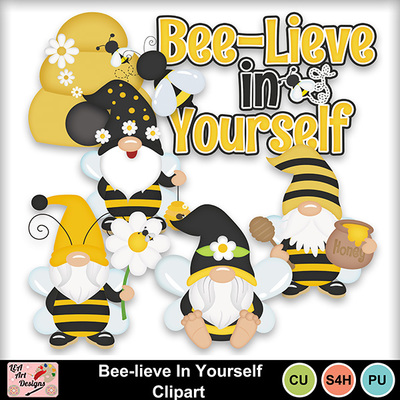 Bee-lieve_in_yourself_clipart_preview