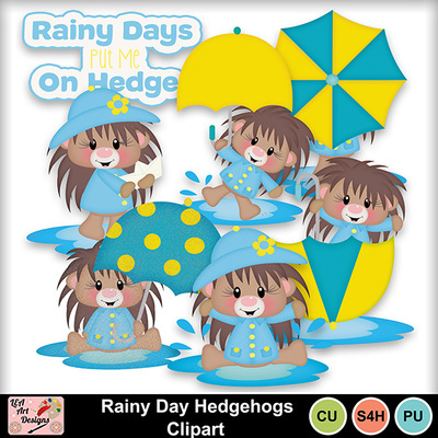 Rainy_day_hedgehogs_clipart_preview