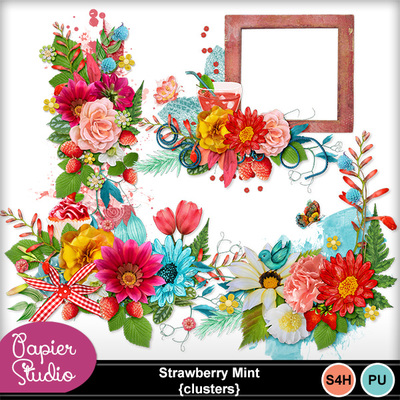 Strawberry_mint_clusters