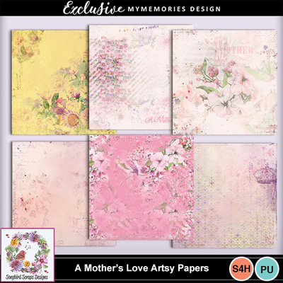 A_mother_s_love_artsy_papers