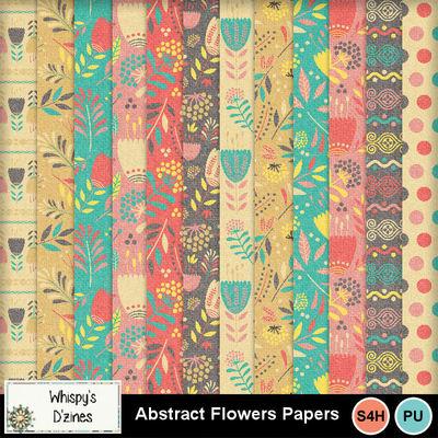 Wdabstractflowerspppv