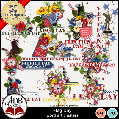 E6_flag_day_wordart_cl