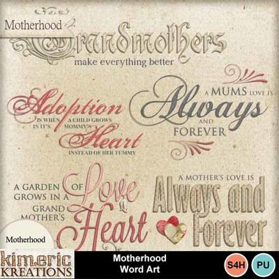 Motherhood_word_art