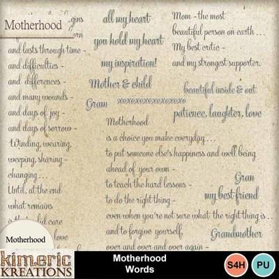 Motherhood_words