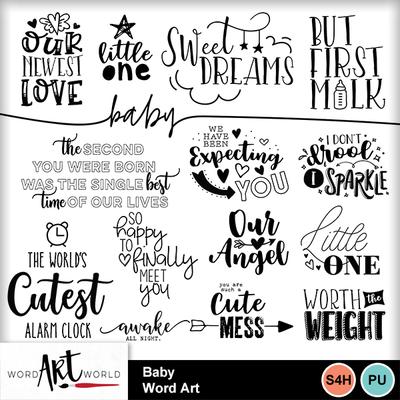 Baby_word_art