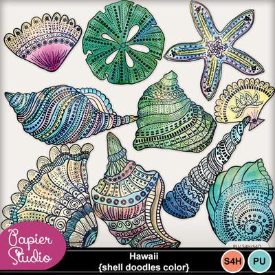 Hawaii_shell_doodles_color