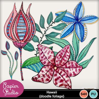 Hawaii_doodle_foliage