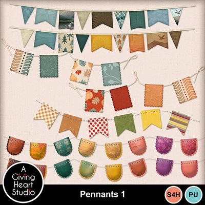 Agivingheart-pennants1web