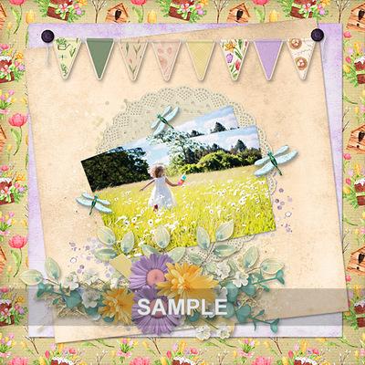 Aghs-springrejoices-border-kit-pennant