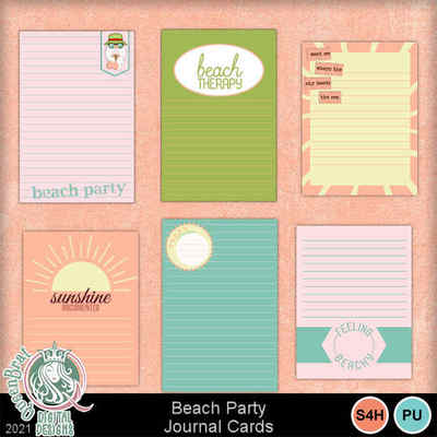 Beachparty_journalcards