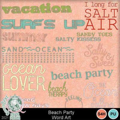 Beachparty_wordart