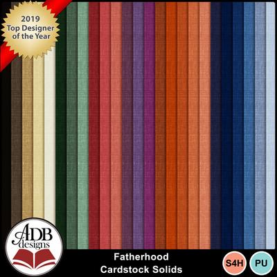 Fatherhood_cardstock_solids