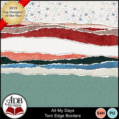 Adbdesigns_all_my_days_torn_edge_borders