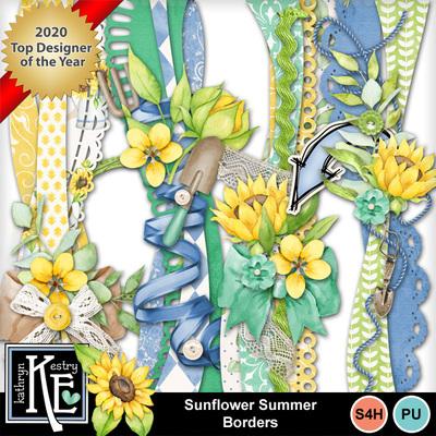 Sunflowersummerborders