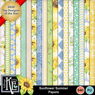 Sunflowersummerpapers