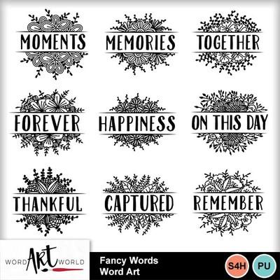 Fancy_words_word_art