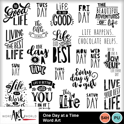 One_day_at_a_time_word_art