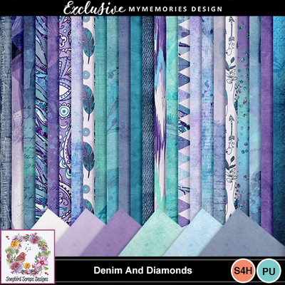 Denim_and_diamonds_backgrounds