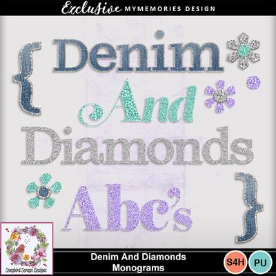 Denim_and_diamonds_monograms