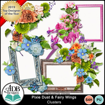 Adbdesigns_pixie_dust_fairy_wings_clusters