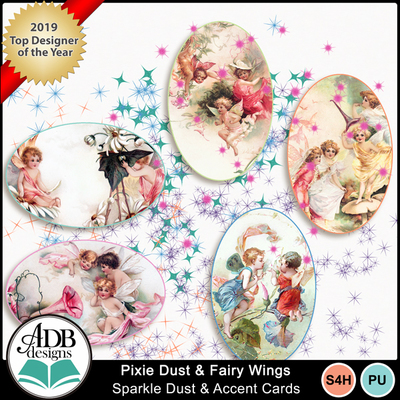 Adbdesigns_pixie_dust_fairy_wings_dust_cards