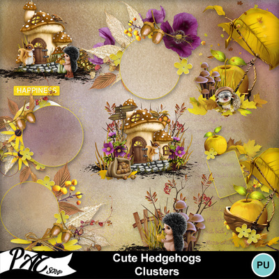 Patsscrap_cute_hedgehogs_pv_clusters