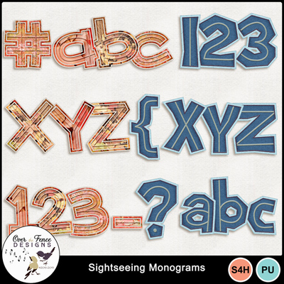 Sightseeing_monograms