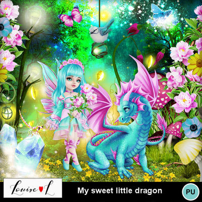 Louisel_my_sweet_little_dragon_preview