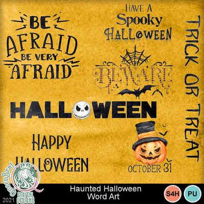 Hauntedhalloween_wordart
