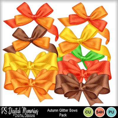 Autumn_glitter_bows