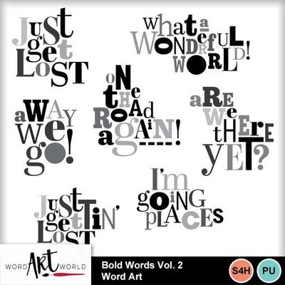 Bold_words_vol_2_word_art