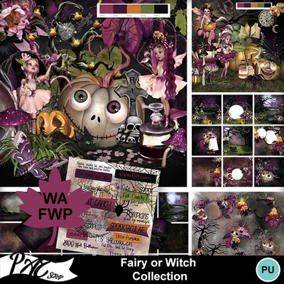 Patsscrap_fairy_or_witch_pv_collection