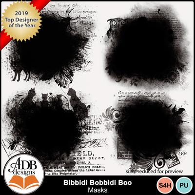 Adbdesigns_bibbidi_bobbidi_boo_masks