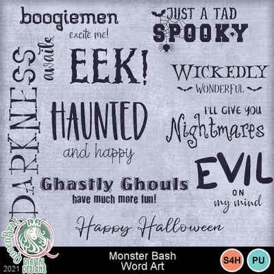Monsterbash_wordart